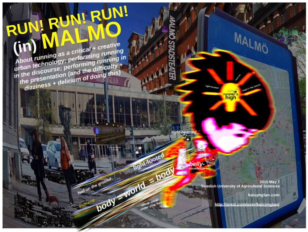 2015 May 7: Bergman + running: RUN! RUN! RUN! Malmo.