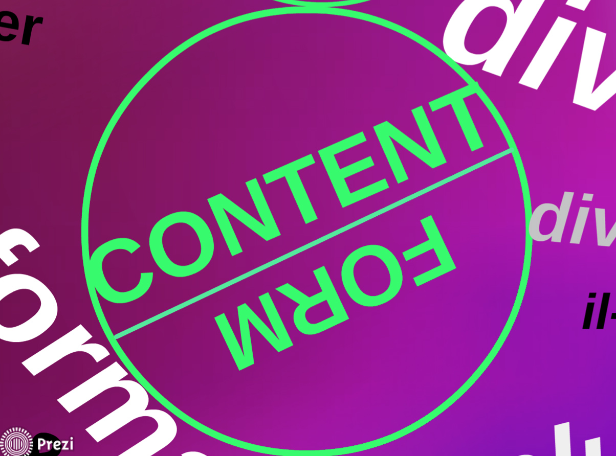 Content = Form?