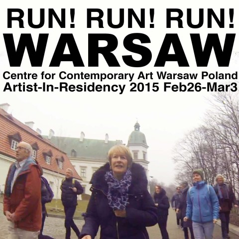 RUN! RUN! RUN! Warsaw. On memory-jogging. 2015.