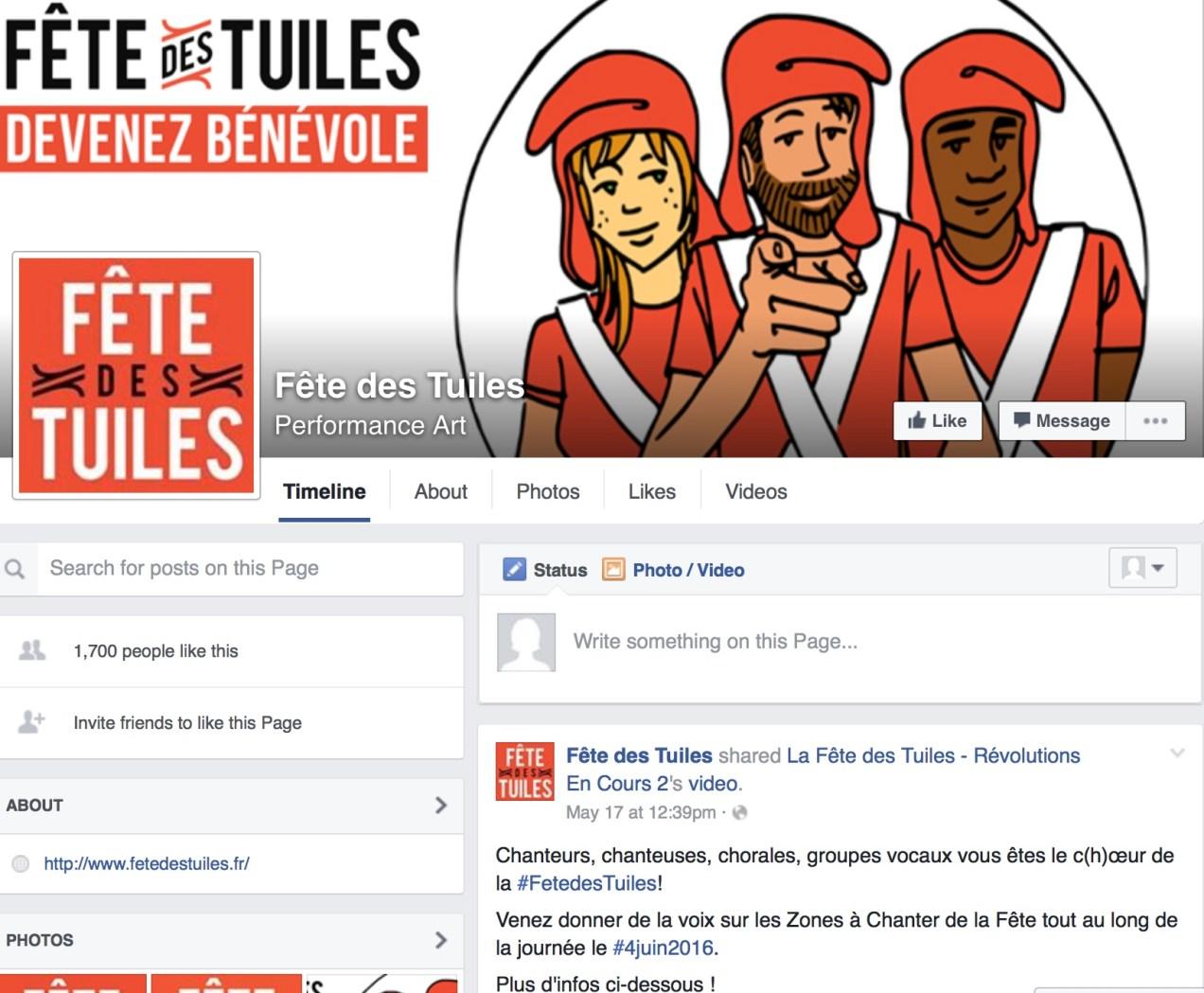 Fete Des Tuiles 2016: FB