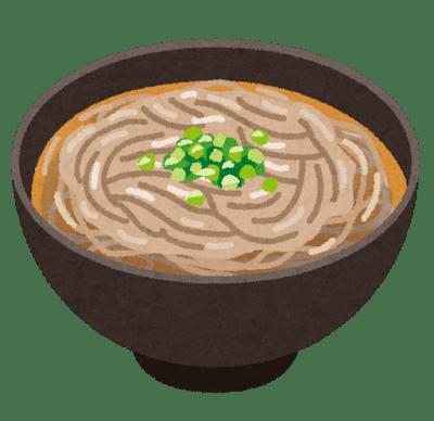蕎麦イラスト