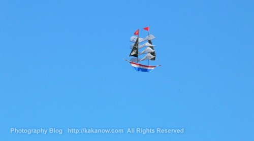 Chinese people like kiteflying very much, You can see kite