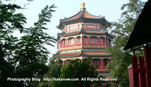 In Yiheyuan, the summer palace. China Beijing vacation. Photo by KaKa.