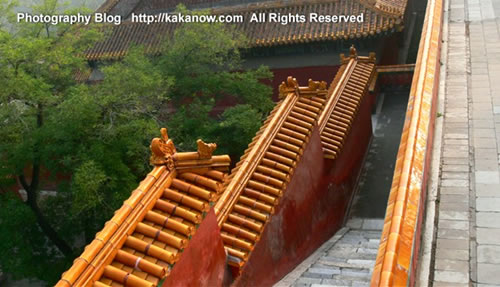 In Yiheyuan, the summer palace. China Beijing vacation. Photo by KaKa