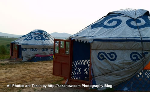 China travel, Inner Mongolia, Horqin Prairie, Yurt, Photo by KaKa.