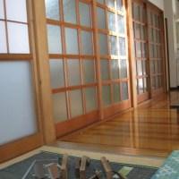 ガラス戸の写真