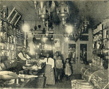 Yazaji's Grocery, 53 Washington 1899