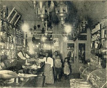Yazaji's Grocery, 53 Washington 1899