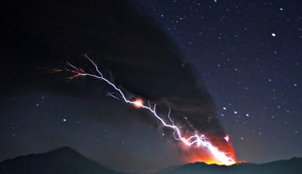 Извержение вулкана Шинмо