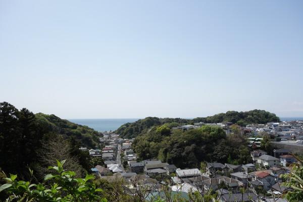 38ビューポイント(稲村ヶ崎の住宅街)