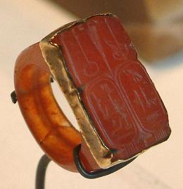 Carnelian Seal Ring