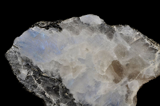 Rough White Moonstone