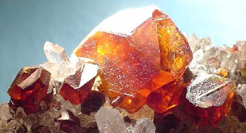 Orange Sphalerite