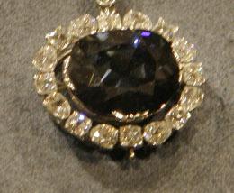 Violet Diamond Pendant