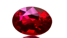 Cut Ruby Source: Wiener Edelstein Zentrum via Wikimedia Commons