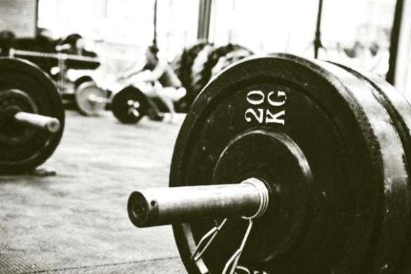 CrossFit sztanga slider