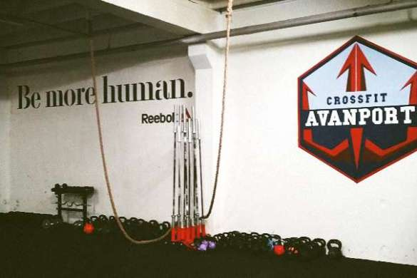 CrossFit Avanport slider