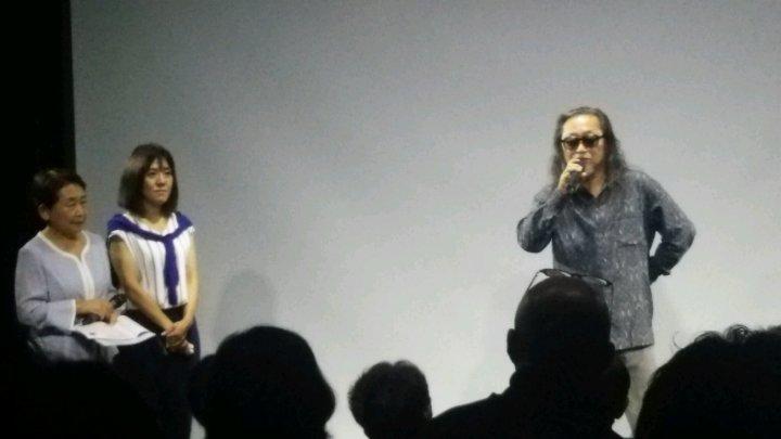 左から、司会の浜田妙子さん(元TVアナウンサー・現鳥取県会議員)、主催の坂田かおりさん(人権問題講師)