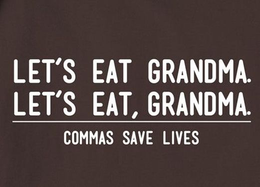 the power of comma