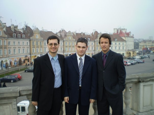 Chris Kostov, Christopher Adam and Jan Raska in Lublin