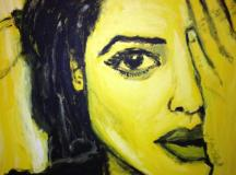 Yellow Portrait / catchyouonthefabside.com