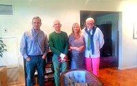 Kurátorok (balról): Christopher Adam, Kevin Burns, Catherine Bélanger és Mark Curfoot-Mollington.