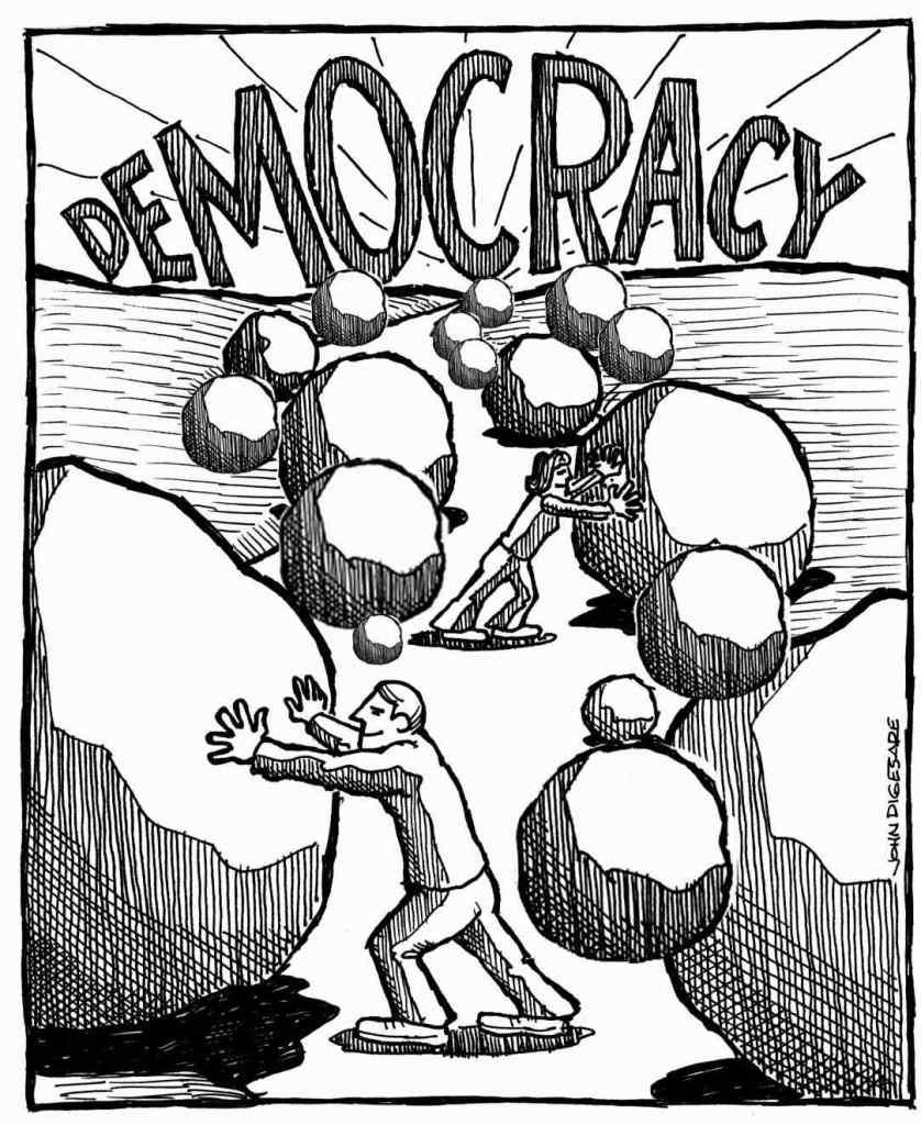 Demokrácia. Demokrácia?