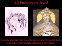 A nácik a kirekesztő attitűd táplálására teljes szimbólumrendszert dolgoztak ki. A kép forrása: predicthistunpredictpast.blogspot.hu