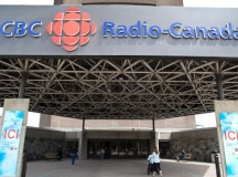 A CBC Radio-Canada montreáli épülete. Fotó: Paul Chiasson / THE CANADIAN PRESS.