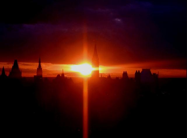 Felkelt a nap Ottawában. Fotó: Tahirah Shadforth.