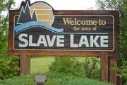 Slave Lake, Alberta.