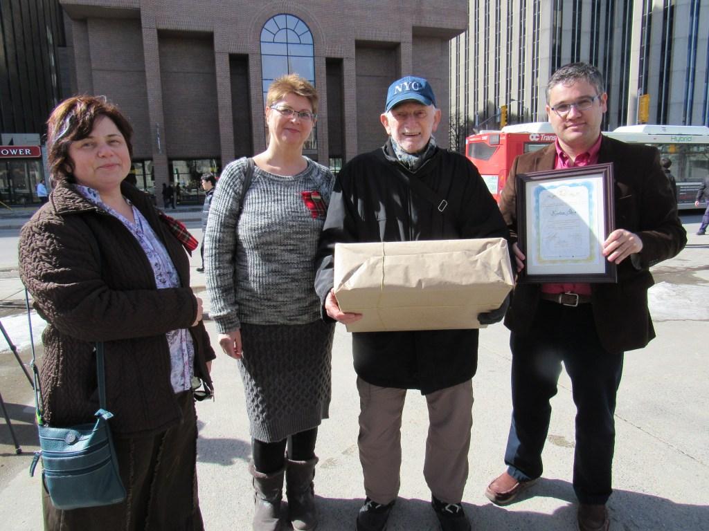 Balról jobbra: Kecskés Tünde, Petényi Judit, Kertész Ákos, Christopher Adam. Fotó: Lévai Gábor / KMH.