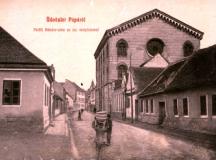 Egy régi képeslap...Izraelita templom Pápán.
