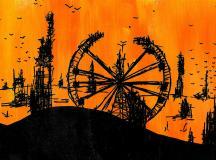 Post-apocalyptic carnival skyline / Jera Sky