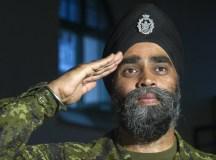 Harjit Sajjan, Kanada honvédelmi minisztere.