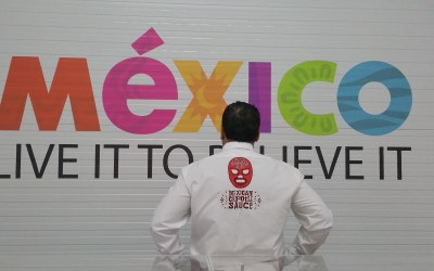 Mexico's pop-up dome 2015