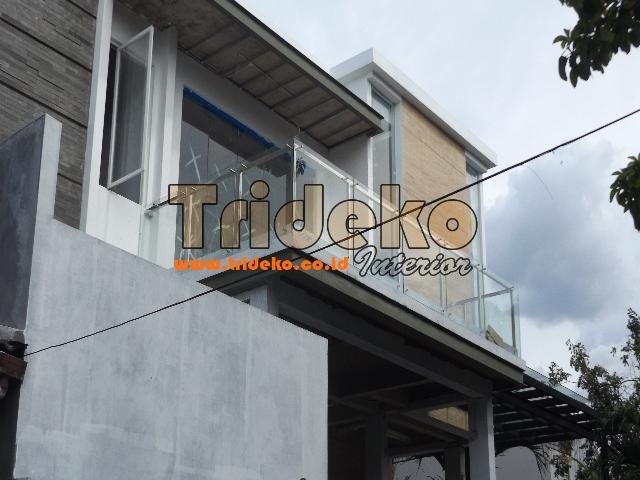 Pasang Railling Balkon Kaca mewah di Kelapa Gading