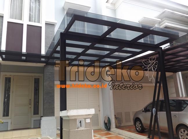 Proyek atap Kaca Rayban dengan kaca Film