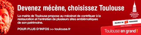 Mécénat pour la restauration du patrimoine de Toulouse