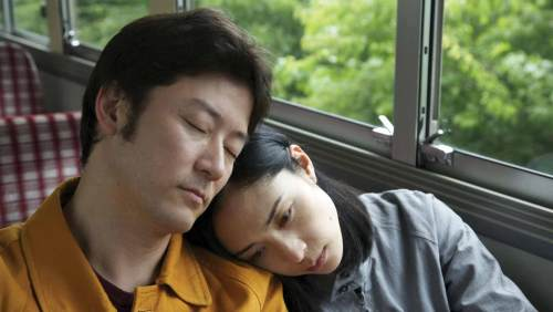 The Japanese film ʻJourney to the Shoreʻ.