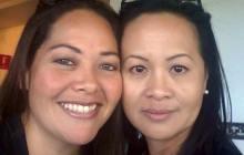 Brandy Kahawai (left) and Michelle Ah Mook Sang (right) – Cynthia Lee Sinclair