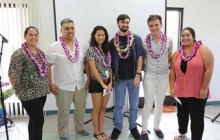 Nominees (L to R): Jamie Logan, Lopaka Maikui, Amber Ichinose, Jesse Soileau, Austin Weihmiller and Rebecca Miyashiro – Courtesy of