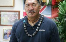 Counselor Winston Kong says aloha to Windward