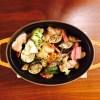 ストウブで蒸し野菜→オーブン焼き、が今ブーム
