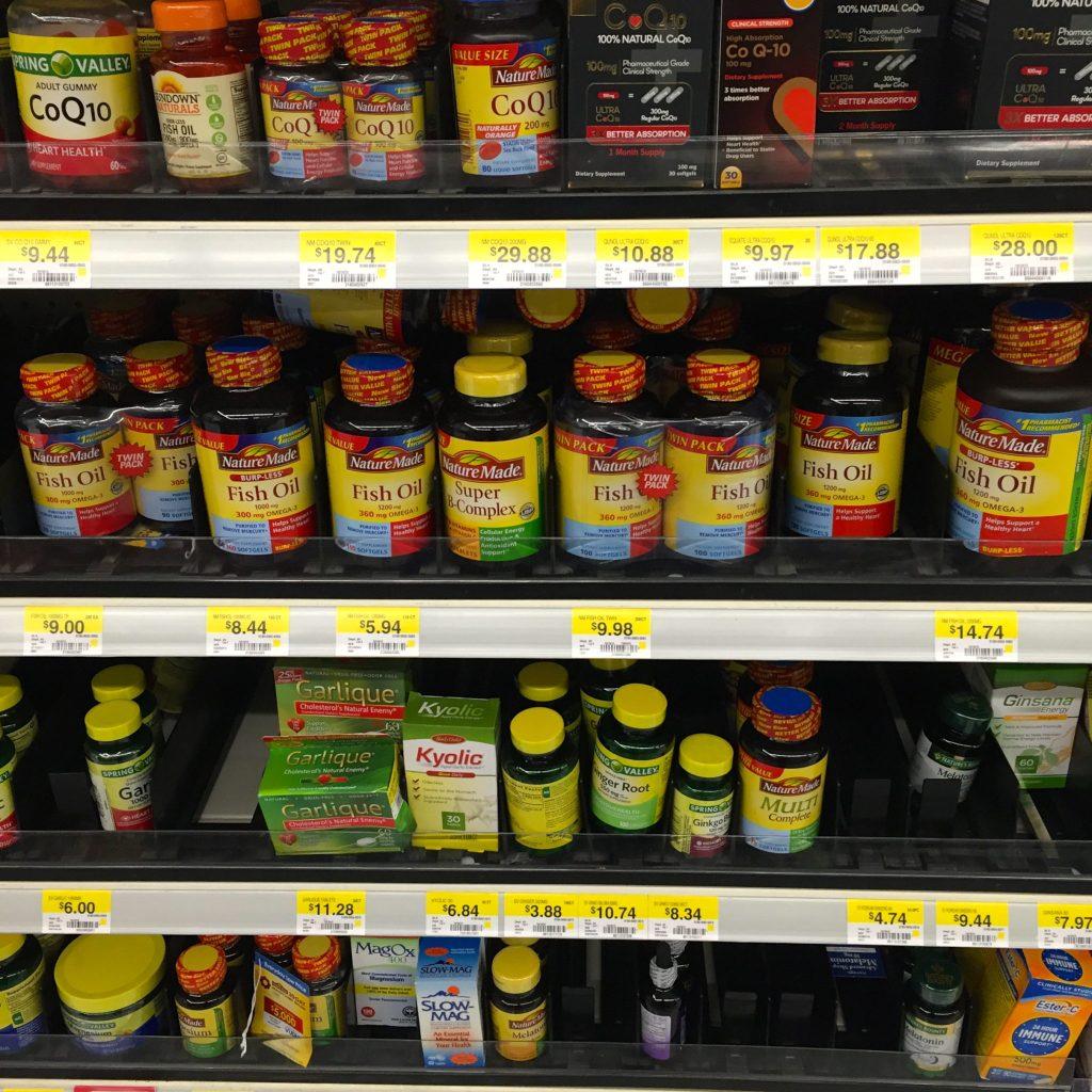 Nature Made at Walmart