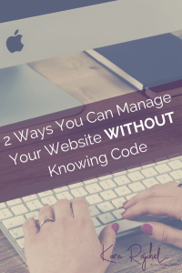 Learn how you can manage your smallbuiz website without knowing any code! No more hiring a developer just so you can update your site! If you can use a text editor you can do it!