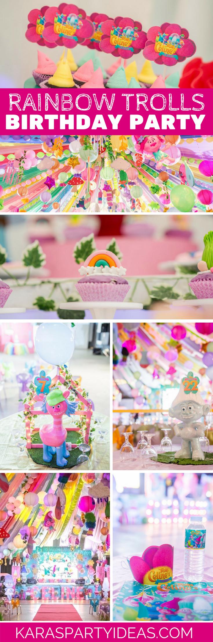 Large Of Trolls Birthday Party Ideas