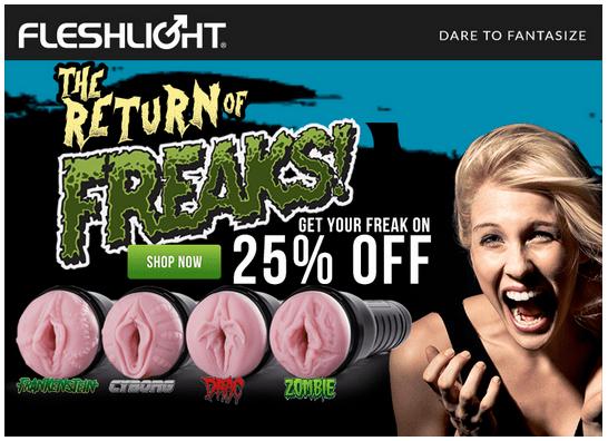 Fleshlight Freaks Sale