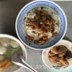 台南 古早味魚丸湯  鴨母寮市場裏で台湾らしい朝食を!