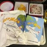 JALパリ便 エコノミー機内食レポ 朝食がモスバーガーだった件【パリから旅した18日間】